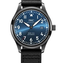IWC Ceramic Automatic Blue 41mm new Pilot Mark