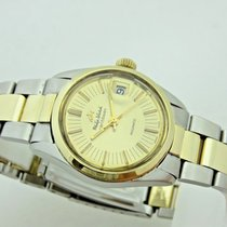 Philip Watch Caribe Gold/Steel 30mm Champagne No numerals