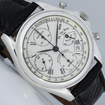 DuBois 1785 Chronograph 39mm Automatic 1996 pre-owned White