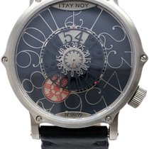 Itay Noy 41mm Manual winding pre-owned Blue