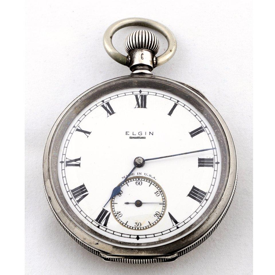49fc29648b9 Elgin National Watch Co. (USA). Reloj de bolsillo