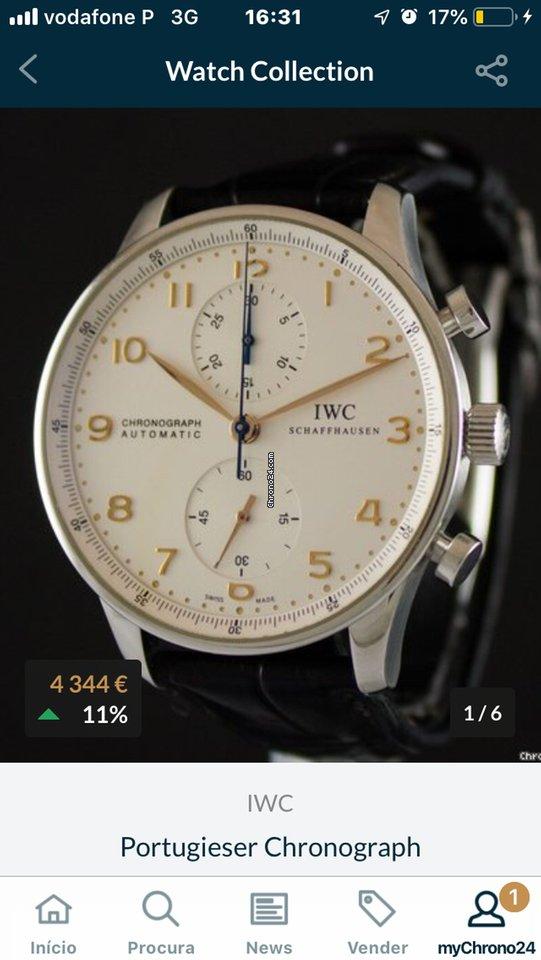 dfa45e8d074 IWC Portuguese Chronograph