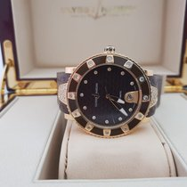 Ulysse Nardin Lady Diver Rose gold 40mm Black