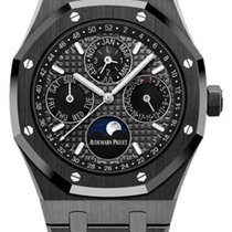 Audemars Piguet Royal Oak Perpetual Calendar Ceramic 41mm No numerals United States of America, New York, New York