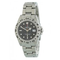 Rolex 16570 Steel 2000 Explorer II 40mm pre-owned United States of America, New York, New York