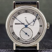 Breguet White gold Manual winding Silver 38mm pre-owned Classique