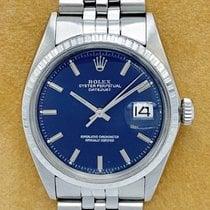 Rolex Datejust Staal 36mm Blauw Geen cijfers Nederland, Rotterdam