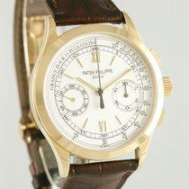 Patek Philippe Chronograph Yellow gold 40mm Silver