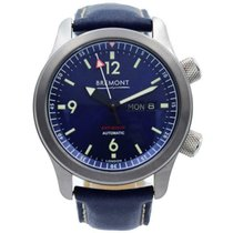 Bremont Steel 43mm Automatic U-2/BL pre-owned United States of America, Indiana, Carmel
