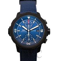 IWC Aquatimer Chronograph Acero 45mm Azul