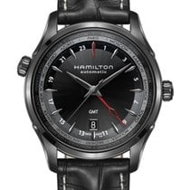 Hamilton Jazzmaster GMT Auto Steel 42mm Black Arabic numerals United States of America, Florida, Miami