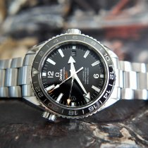 Omega Seamaster Planet Ocean Steel 43.5mm Black Arabic numerals United Kingdom, Whitby- North Yorkshire