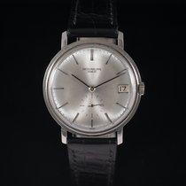 Patek Philippe White gold Automatic Silver No numerals 35mm pre-owned Calatrava