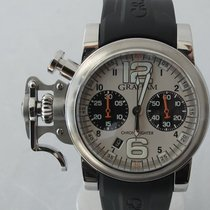Graham Chronofighter R.A.C. new Automatic Chronograph Watch with original box and original papers 2CRBS R.A.C.