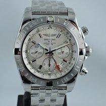 Breitling Chronomat 44 GMT neu 2015 Automatik Chronograph Nur Uhr AB042011/G745/375A