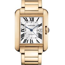 Cartier Tank Anglaise Rose gold 47mm Silver UAE, Gold and Diamond Park Bulding #5 Dubai