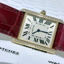 Cartier Tank Louis Cartier Rose Gold Diamonds - WJTA0014