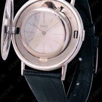 伯爵 white gold coin watch PIAGET