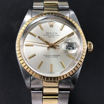 Rolex - Oyster Perpetual Date Champagne Dial - Ref.1505 - Men...