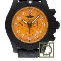 Breitling Chronomat Avenger Hurricane Chronograph Yellow Dial...