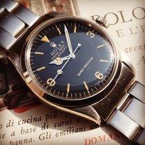 Rolex Explorer Stål 34mm Sort