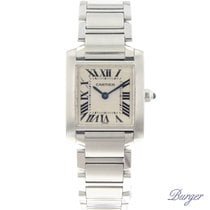 Cartier Tank Française tweedehands 20.3mm Staal