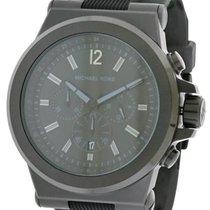 Michael Kors Mens Black Silicone Watch