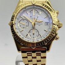 Breitling Chronomat Geelgoud 40mm Wit Nederland, Gennep
