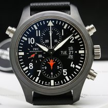 IWC Pilot Chronograph Top Gun 46mm Zwart Arabisch