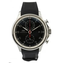 IWC Portuguese Yacht Club Chronograph pre-owned 43mm Rubber