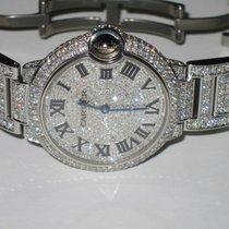 Cartier Ballon Bleu 36mm Steel 36mm Roman numerals United States of America, New York, NEW YORK CITY