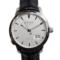 Glashütte Original Senator Panorama Date Steel 40mm Silver