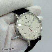 NOMOS Ahoi Datum Steel 40mm White Arabic numerals United States of America, Florida, Orlando
