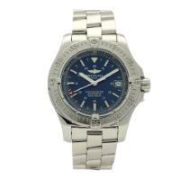 Breitling Colt Automatic Steel 41mm Blue No numerals