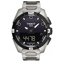 Tissot T-Touch Expert Solar T091.420.44.051.00 New Titanium 45mm Quartz