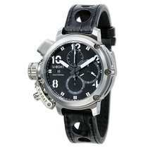 U-Boat Steel Automatic Black 46mm new Chimera