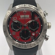 Tudor Fastrider Chrono Steel 42mm Red Arabic numerals