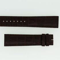 Cartier Lederband / Alligator / Braun - 20,5 / 18 Länge 115 / 85
