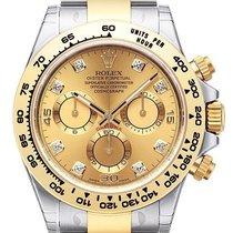 Rolex Daytona Cosmograph 40 Edelstahl / Gelbgold 116503 Champ....