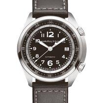 ハミルトンカーキ ・新品/未使用・時計 (説明書付き、化粧箱入り)・41 mm・スチール