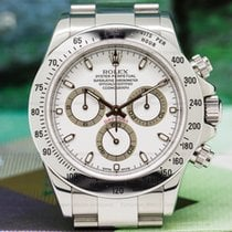 "Rolex 116520 Daytona White Dial Collector Quality ""Full..."