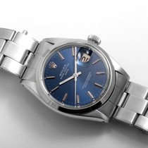 Rolex SS Date Blue Stick w/ Oyster Bracelet 1500 non-quickset