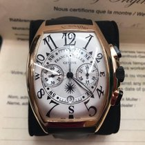 Franck Muller Mariner 9080CC 18k Rose Gold Chronograph 47mm