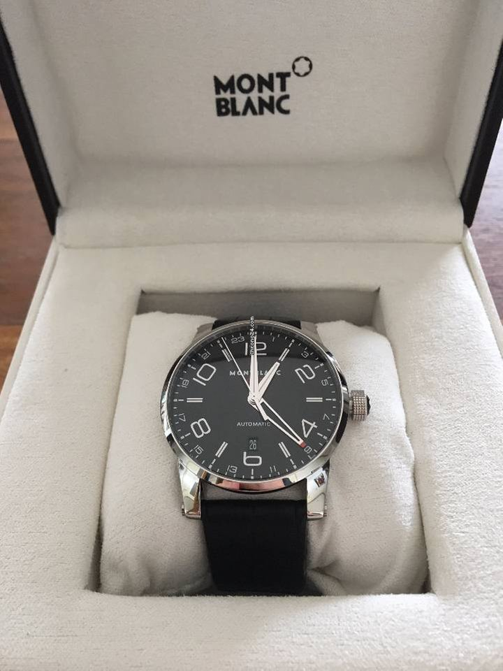 bcb4f1190be Montblanc Timewalker GMT Automatic Steel