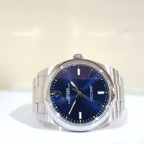 Rolex Oyster Perpetual 39mm blue - full set - year 2015
