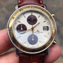 Baume & Mercier Chrono Chronograph transpacific oro Gold steel...