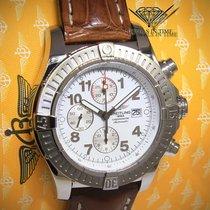 Breitling Super Avenger Chronograph Steel Mens Watch Box/Paper...