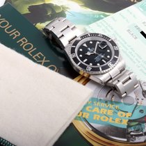 Rolex 2001 Unpolished Submariner Original Papers,Box,Tags,Manuals