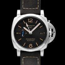 Panerai Luminor 1950 3 Days GMT Automatic new Automatic Watch with original box and original papers PAM01535