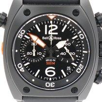 "Bell & Ross ""Marine BR 02-94 Chronograph"" Black PVD case"
